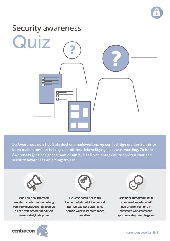 CENTUREON | Security awareness Quiz