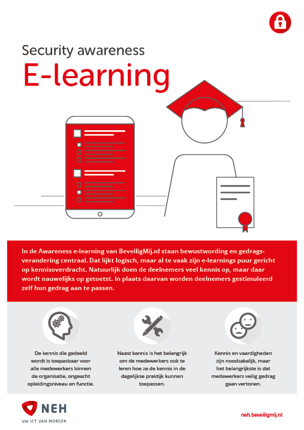 NEH ICT Solutions | Security awareness e-learning