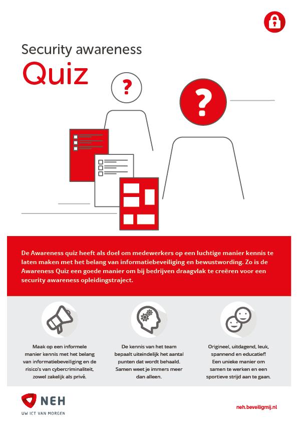 NEH ICT Solutions | Security awareness Quiz