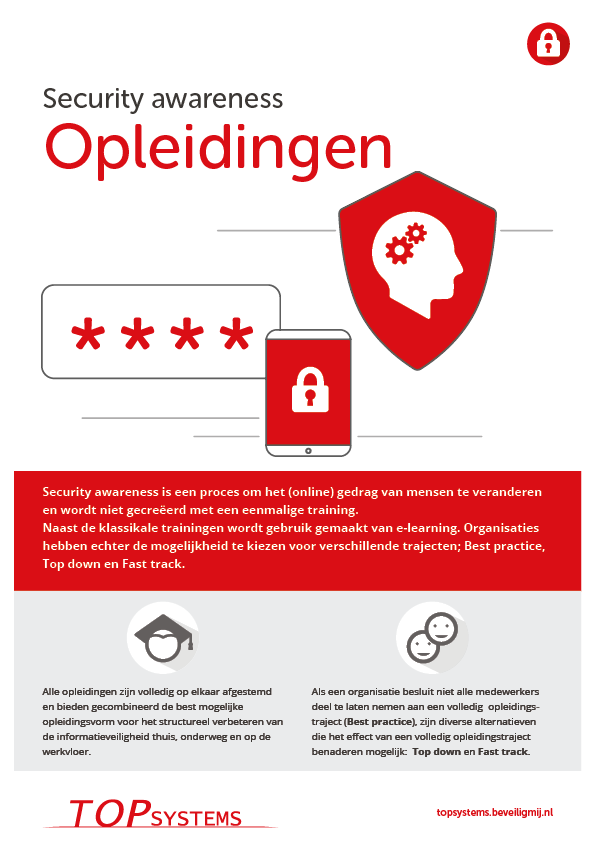 TOP systems | Security awareness opleidingen