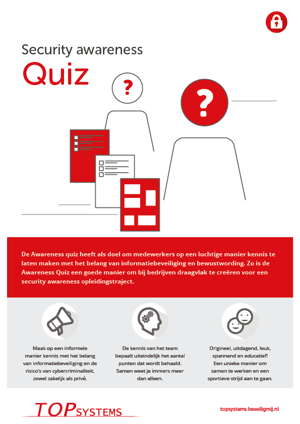 TOP systems | Security awareness Quiz