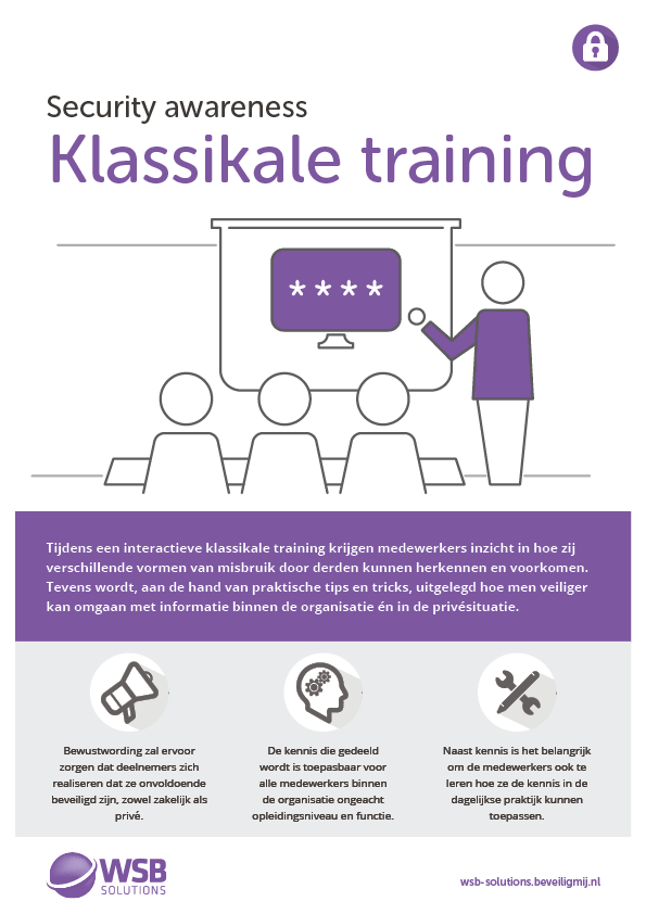 WSB Solutions | Security awareness training